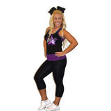 Everyday Essentials Practicewear Razor Tank and Leggings Set Featuring ACC Logo in Rhinestones