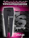 Sparkle Lounge Pants Featuring Skky Allstars Rhinestone Logo