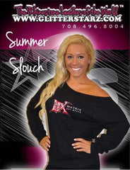 Off the Shoulder Summer Slouchy Featuring Matrix Allstars Rhinestone Logo