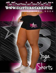 Rollover Shorts Featuring Xtreme Tumble and Cheer Rhinestone Logo