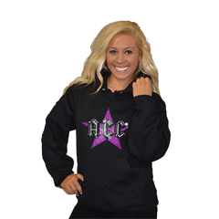 Pullover Style Hoodie Featuring Rhinestone ACC Logo