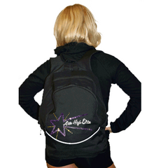 Bling Backpack Featuring Aim High Elite Rhinestone Logo