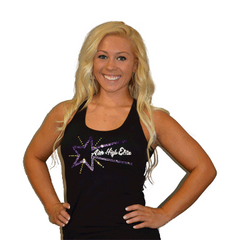 Razor Tank Featuring Rhinestone Aim High Elite Logo