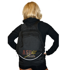 Bling Backpack Featuring Arizona State University Rhinestone Logo