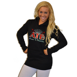 Boyfriend Style Longer Length Hoodie Featuring Avenue to Broadway Logo
