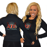 Cadet Jacket Featuring Avenue to Broadway Rhinestone Logo