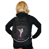Bling Backpack Featuring Ballet Academy of Moses Lake Rhinestone Logo