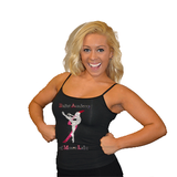 Cami Tank Top Featuring Ballet Academy of Moses Lake Rhinestone Logo