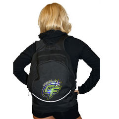 Bling Backpack Featuring Bannons Cheer Force Rhinestone Logo