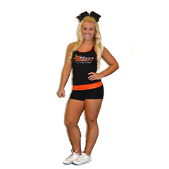 Practicewear Tank and Short Set Featuring Blaze Allstars Logos in Rhinestones