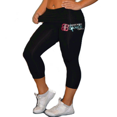 Leggings Featuring Broadway Bound Rhinestone Logo