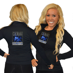 Cadet Jacket Featuring Colorado School of Dance Rhinestone Logo