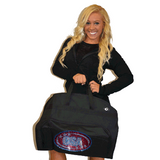 Bling Garment Bag Featuring CSA Rhinestone Logo