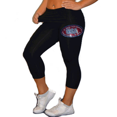 Leggings Featuring CSA Rhinestone Logo