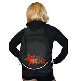 Bling Backpack Featuring Elite Heat Rhinestone Logo