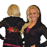 Burnout Hoodie Featuring Elite Heat Rhinestone Logo