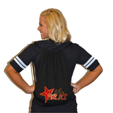 Bling Cinch Bag Featuring Elite Heat Rhinestone Logo