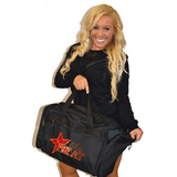 Bling Duffel Bag Featuring Elite Heat Rhinestone Logo