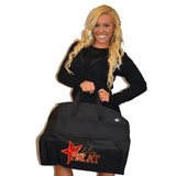 Bling Garment Bag Featuring Elite Heat Rhinestone Logo