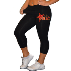 Leggings Featuring Elite Heat Rhinestone Logo