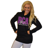 Boyfriend Style Longer Length Hoodie Featuring River City Allstars Logo