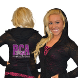 Burnout Hoodie Featuring River City Allstars Rhinestone Logo