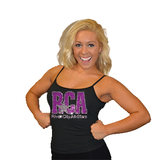 Cami Tank Top Featuring River City Allstars Rhinestone Logo