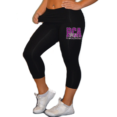 Leggings Featuring River City Allstars Rhinestone Logo