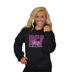 Pullover Style Hoodie Featuring Rhinestone River City Allstars Logo