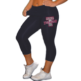 Leggings Featuring Turners Rhinestone Logo