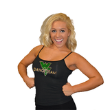 Cami Tank Top Featuring Waubonsie Valley Dance Rhinestone Logo