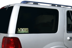 Bling Clingz featuring Rhinestone WNHS Cheerleader Logo