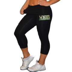 Leggings Featuring WNHS Cheerleader Rhinestone Logo