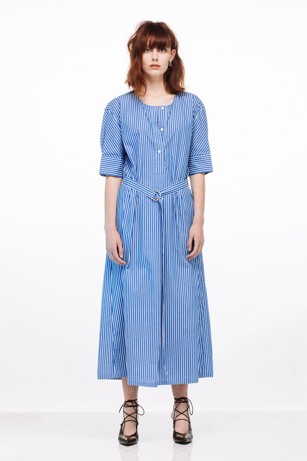 Calla Dress - blue