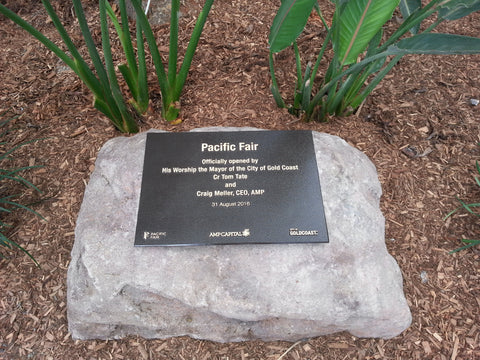 Pacific fair memorial rock gold coast