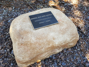 Extra Large Memorial Rock  no. 965  Triple series.