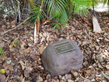 Large Memorial Rock Urn 989 with indent