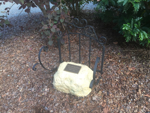 Memorial Rock Urn 874 Small-Single. Sandstone Gold Series SSSAN