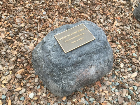 artificial rocks memorial