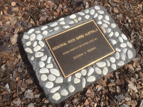 Novelty Memorial Paver Stone 783 (Not an Urn)