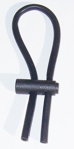 Conductive  Adjustable Rubber Loops- for Banana Plugs