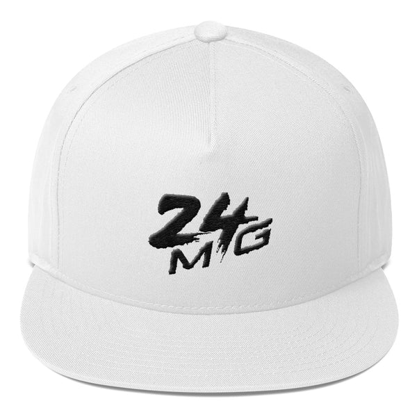 24 Money Gang Black Logo Snapback