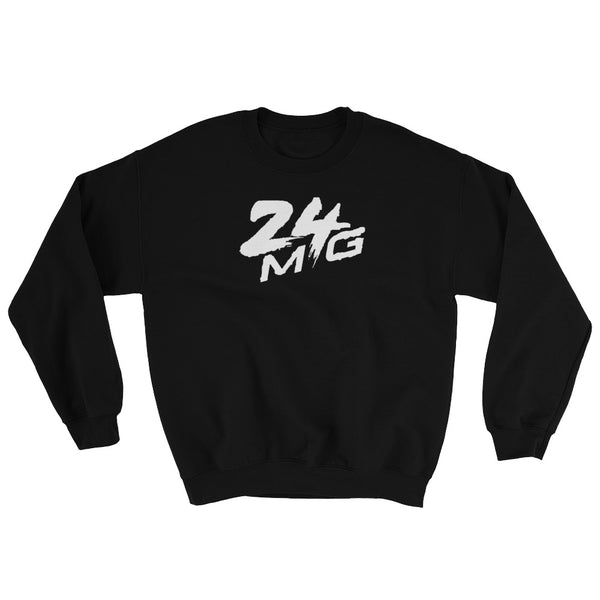 24 Money Gang 3D White Logo Crewneck