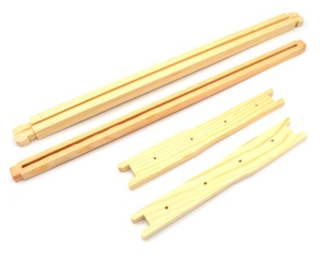 Deep Wood Frames for Wax 10 pk - UN