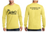 Wood's Beekeeping - Long Sleeved Tee - Yellow