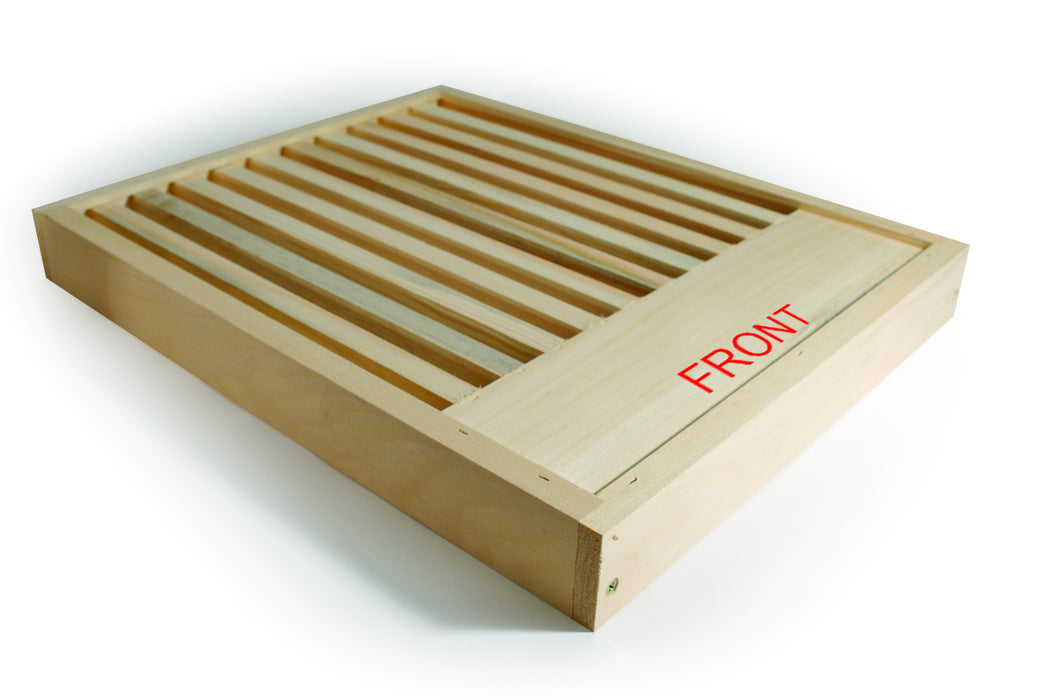 Vertical Slatted Rack - 10 Frame