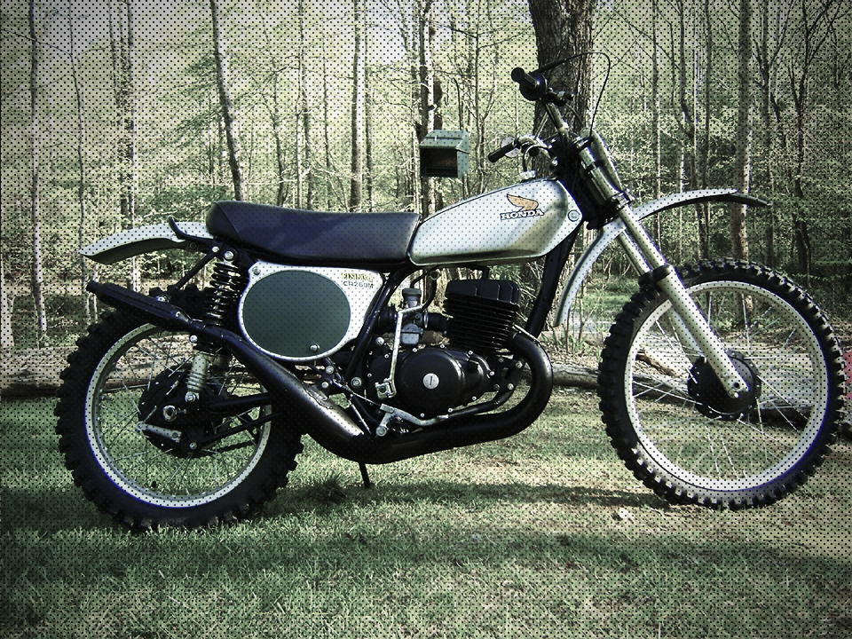 1973 Honda_CR250M_Elsinore