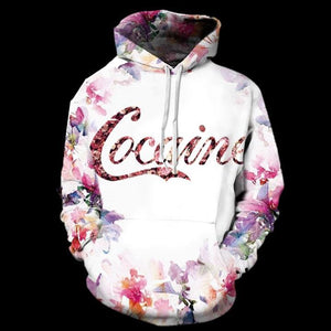 Cococaine - Overprint Hoody - Clothing