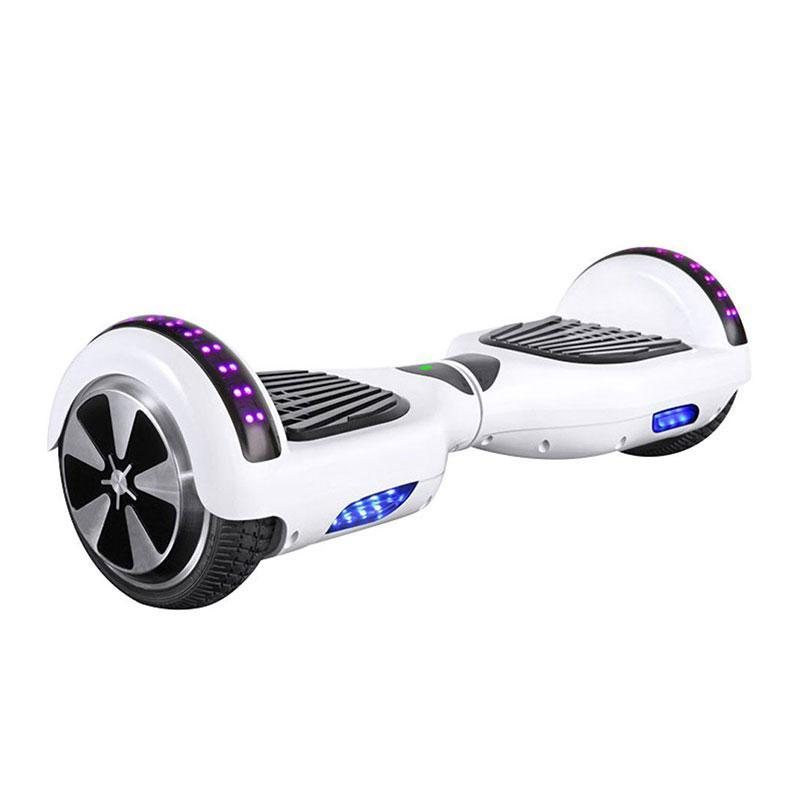 Classic White LED Hoverboard