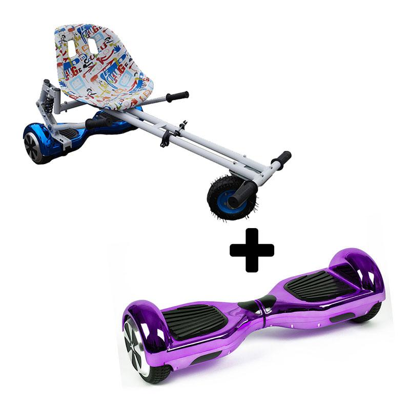 Graffiti White X Chrome Purple Bundle